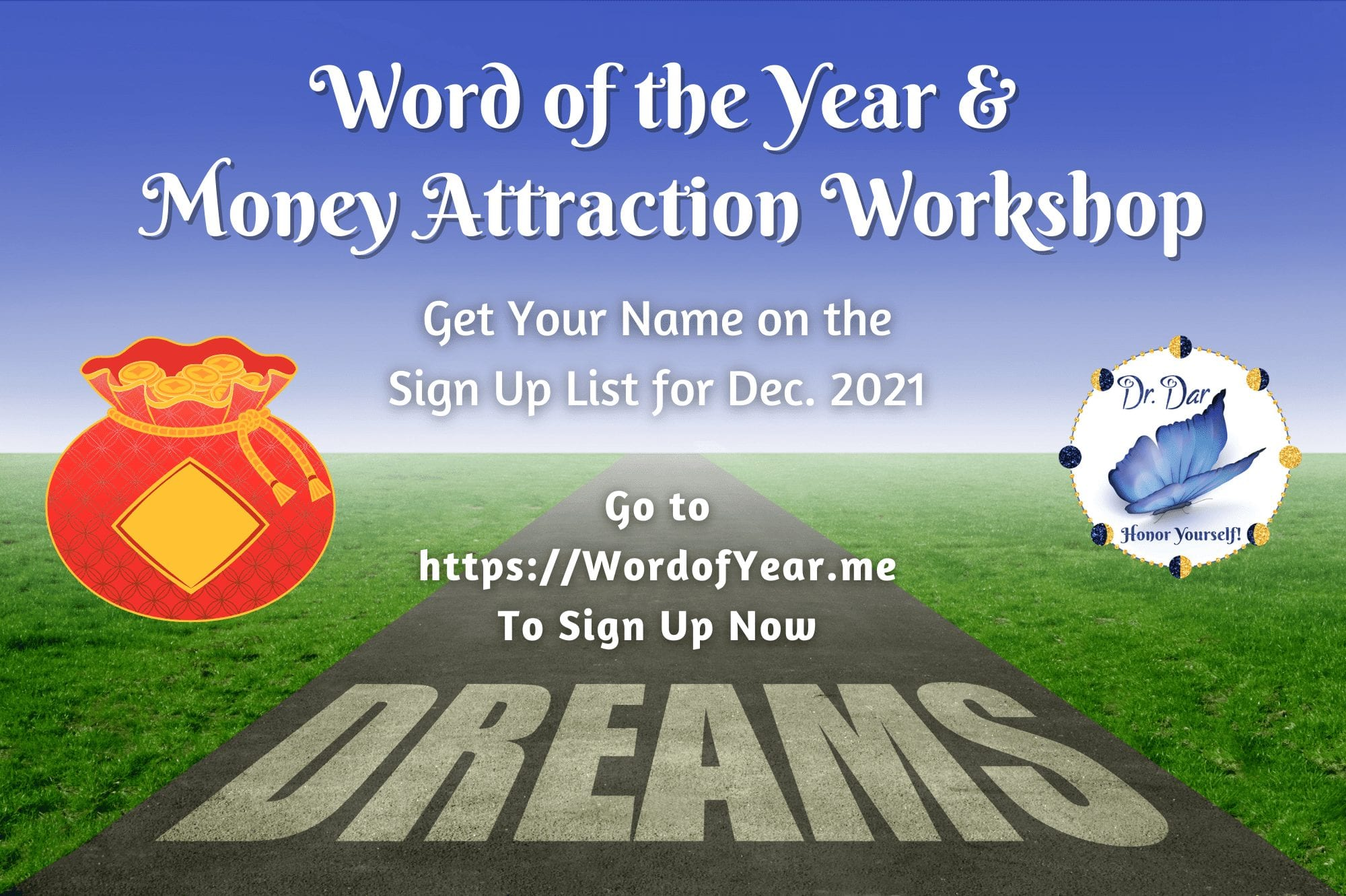 Word Of The Year And Money Attraction Workshop