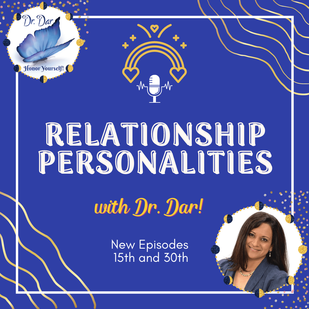 Relationship Personalities - Podcast Cover - Dr. Dar Hawks